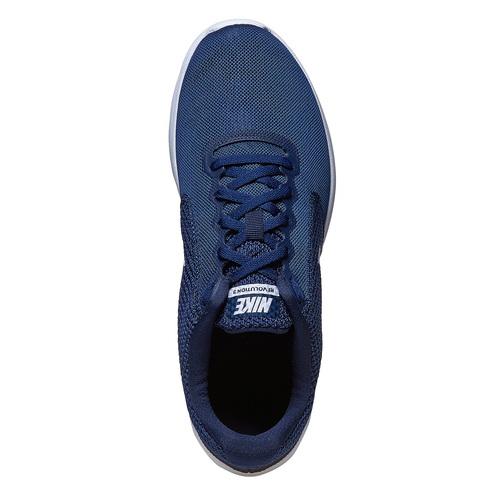 Sneakers sportive da uomo nike, blu, 809-9149 - 19