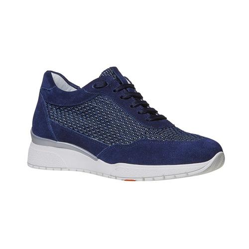 Sneakers casual da donna flexible, blu, 529-9586 - 13