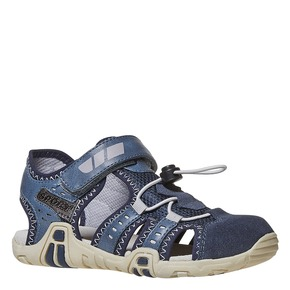 Sandali blu da bambino mini-b, blu, 361-9218 - 13