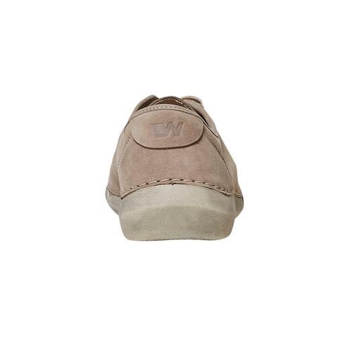 Scarpe basse casual da donna weinbrenner, beige, 546-8201 - 17