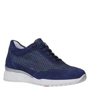 Sneakers casual da donna flexible, blu, 529-9586 - 13