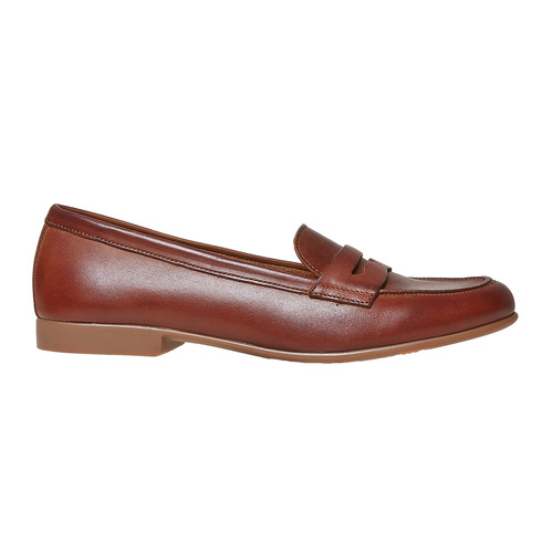 Penny Loafer di pelle flexible, marrone, 514-4280 - 15