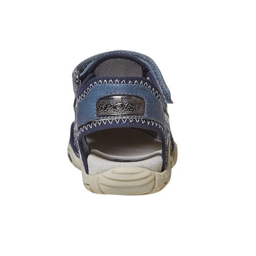 Sandali blu da bambino mini-b, blu, 361-9218 - 17