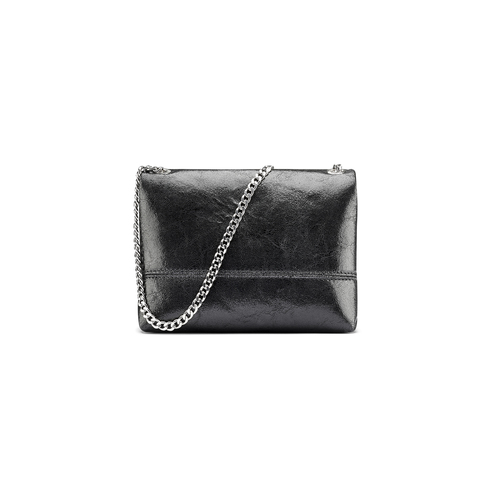 Mini-bag in pelle nera bata, nero, 964-6239 - 26