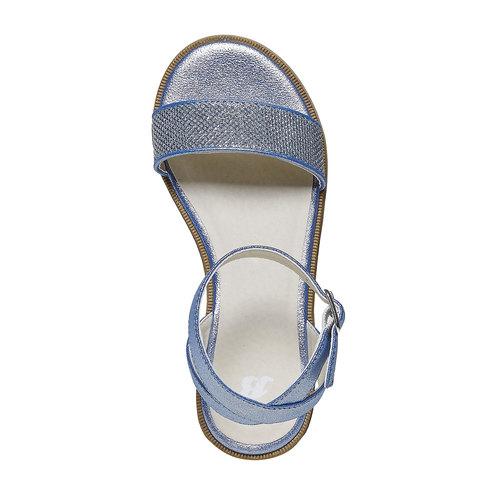 Sandali blu da bambina mini-b, blu, 361-9194 - 19