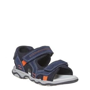 Sandali in pelle da bambino mini-b, blu, 363-9198 - 13