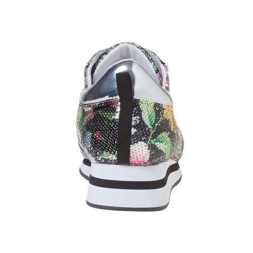 Sneakers con motivo floreale, 549-0157 - 17