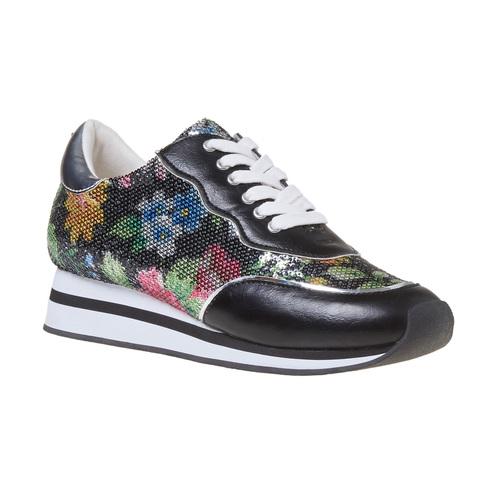 Sneakers con motivo floreale, 549-0157 - 13