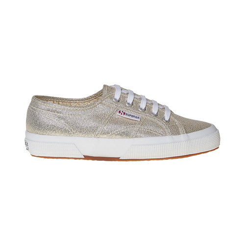 Sneakers dorate da donna superga, oro, 589-8187 - 15
