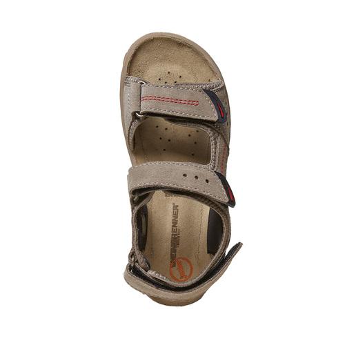 Sandali in pelle da bambino weinbrenner-junior, beige, 463-3101 - 19