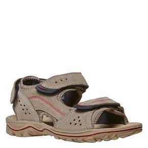 Sandali in pelle da bambino weinbrenner-junior, beige, 463-3101 - 13
