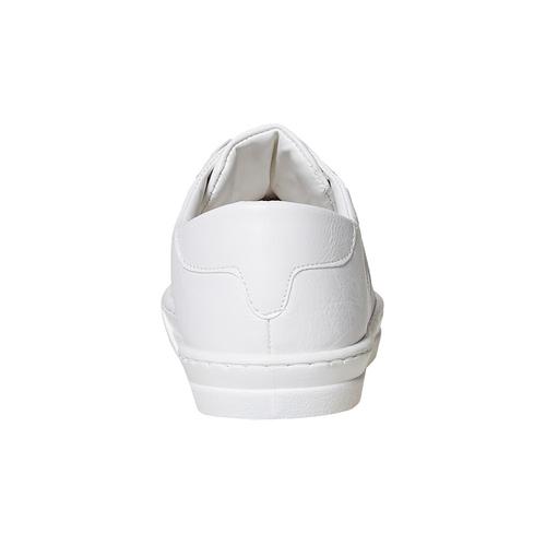 Sneakers bianche con borchie a punta north-star, bianco, 831-1137 - 17