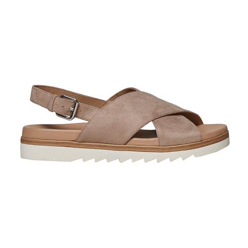 Sandali da donna con suola appariscente bata, 569-2436 - 15
