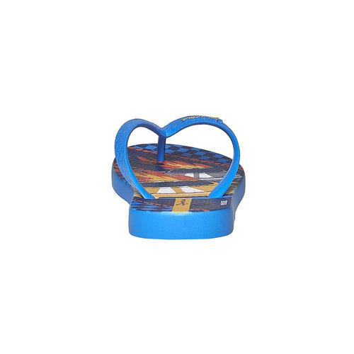 Infradito da bambino con stampa ipanema, blu, 372-9167 - 17