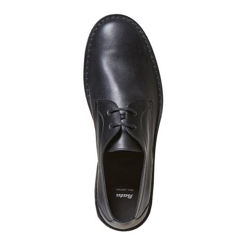 Scarpe basse da uomo in pelle, nero, 854-6111 - 19