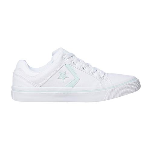 Sneakers bianche da donna converse, 589-0359 - 15