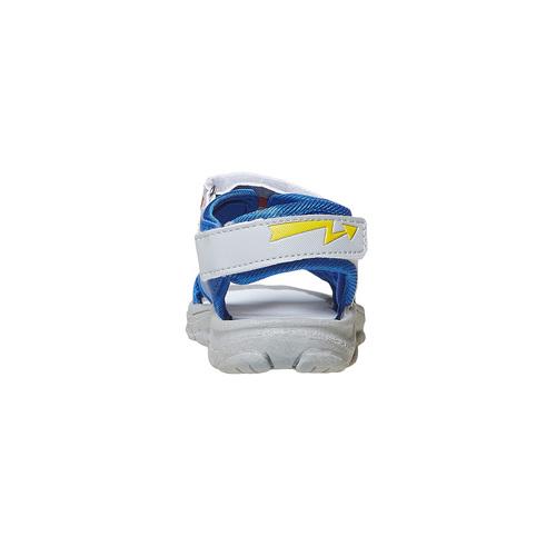 Sandali da bambino con chiusure a velcro, blu, 261-9194 - 17
