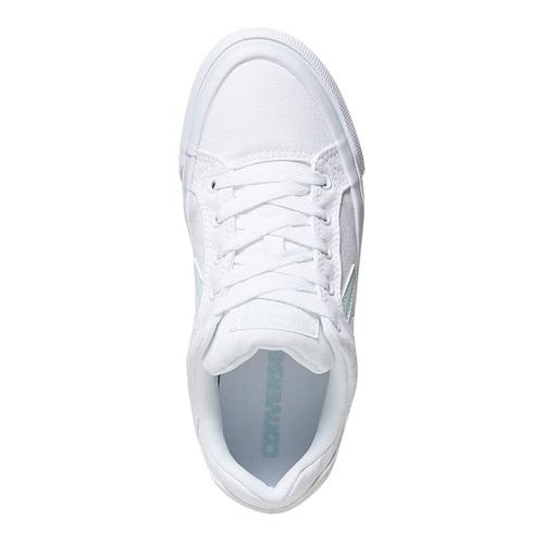 Sneakers bianche da donna converse, 589-0359 - 19