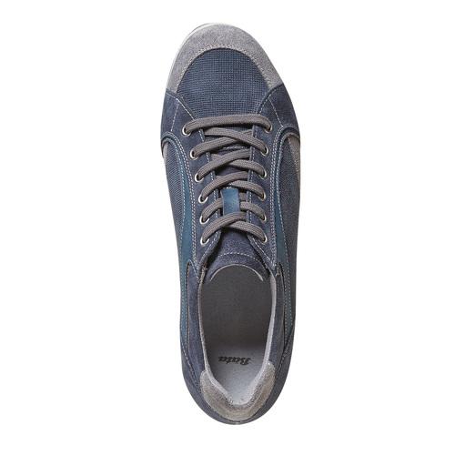 Sneakers casual da uomo bata, blu, 843-9295 - 19