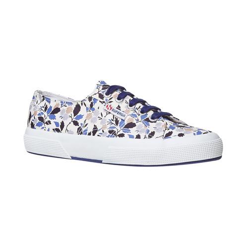 Sneakers casual da donna con motivo superga, viola, 589-9987 - 13