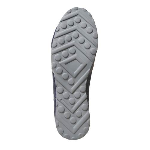 Sneakers casual da uomo bata, blu, 843-9295 - 26