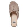 Slip-on da donna con flatform bata, grigio, 669-2252 - 19