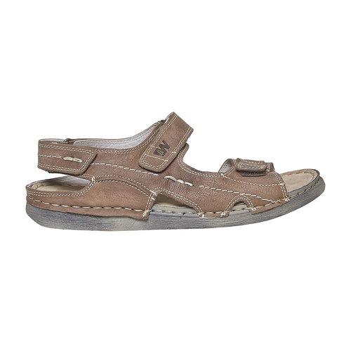 Sandali in pelle da uomo weinbrenner, marrone, 866-4278 - 15