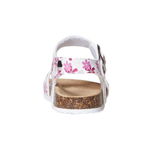 Sandali da bambina con motivo mini-b, rosa, 261-1185 - 17