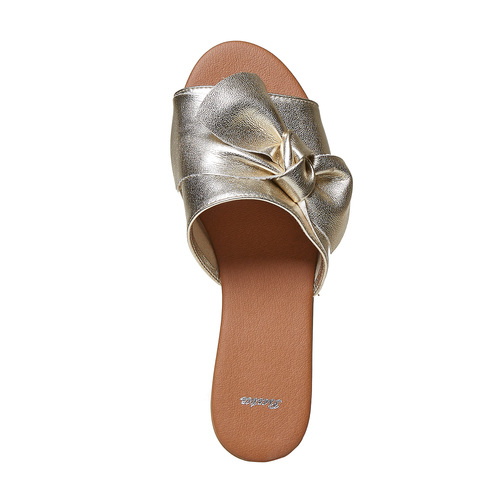 Slip-on dorate da donna bata, oro, 564-8411 - 19