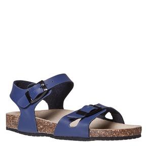 Sandali blu da bambina mini-b, blu, 361-9233 - 13