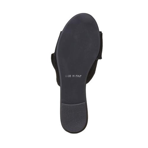 Slip-on in pelle nera bata, nero, 563-6411 - 26