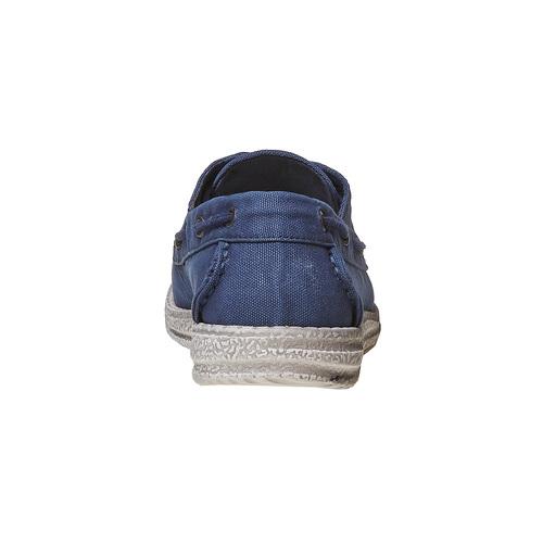 Mocassini blu da uomo bata, blu, 859-9283 - 17