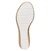 Slip-on da donna con plateau naturale bata, bianco, 771-1104 - 26