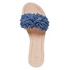 Slip-on blu in pelle con frange bata, blu, 573-9354 - 19