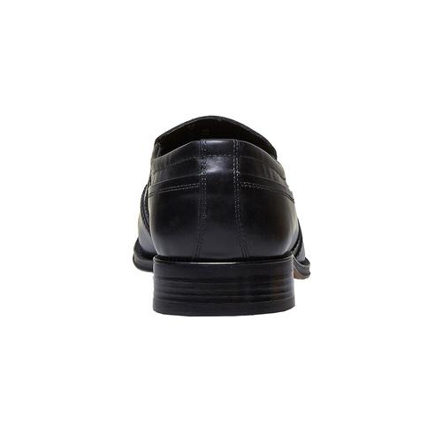 Loafer in pelle da uomo, nero, 814-6168 - 17