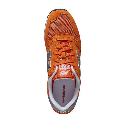 Sneakers in pelle da uomo new-balance, arancione, 803-3107 - 19