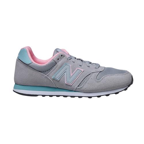 Sneakers da donna in pelle new-balance, grigio, 503-2107 - 15