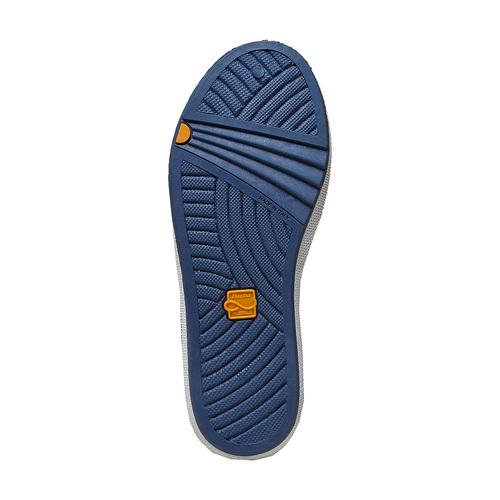 Sneakers da bambino con chiusure a velcro flexible, blu, 311-9244 - 26