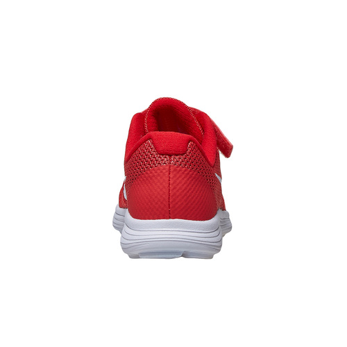 Sneakers rosse da bambino nike, rosso, 309-5249 - 17