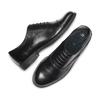 Scarpe basse in pelle bata, nero, 524-6661 - 26