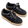 Sneakers nere con fiocco north-star, nero, 523-6484 - 19
