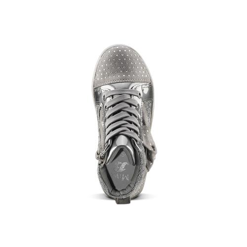 Sneakers con fiocco mini-b, grigio, 229-2205 - 15
