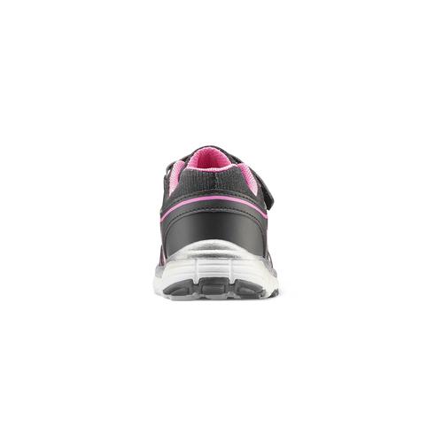 Sneakers da bambina con glitter, nero, 229-6175 - 16