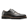 Scarpe stringate bicolore bata-the-shoemaker, nero, 824-6186 - 13