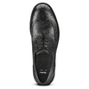 Stringate Brogue in pelle bata, nero, 824-6429 - 15
