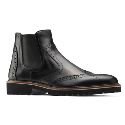 Chelsea boots in pelle bata-the-shoemaker, nero, 894-6735 - 13