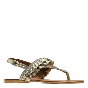 Sandali oro con volant bata, oro, 564-8118 - 13