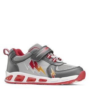 Sneakers con luci mini-b, grigio, 211-2183 - 13