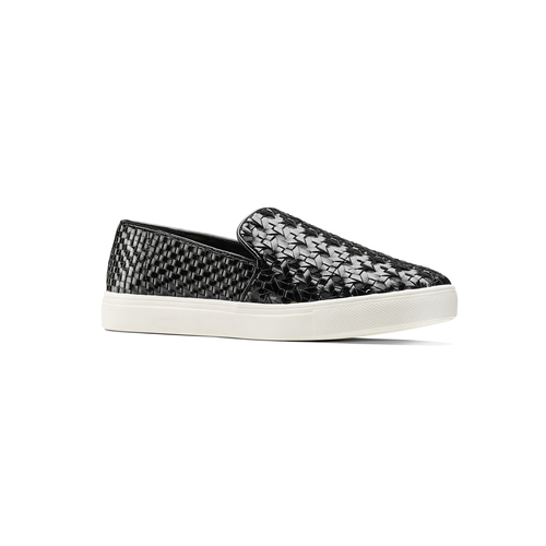 Slip-on nere north-star, nero, 541-6324 - 13