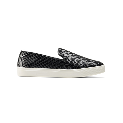 Slip-on nere north-star, nero, 541-6324 - 26